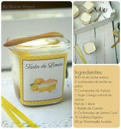 Mi Dulce Hogar: Yogur de Tarta de Limón