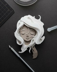 Talented Artist Creates Stunning Illustrations by Cutting Paper