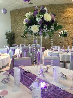 88 ideas fabulous and breathtaking wedding centerpieces 68 Tall Wedding Centerpieces, Wedding Reception Decorations, Floral Centerpieces, Wedding Table, Floral Arrangements, Martini Glass Centerpiece, Wedding Ideas, Quince Decorations, Quinceanera Decorations