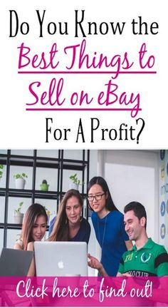 Do you know what the best things to sell on eBay for a profit are? Check out this article to find out. Way To Make Money, Make Money Online, Making Extra Cash, Embroidery Hoops, Embroidery Jewelry, Managing Your Money, Blog Planner, Useful Life Hacks, Blogger Tips