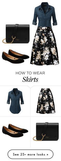 """Full skirts"" by aura-iordan on Polyvore featuring Accessorize and Mulberry"