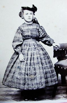 Civil War Era CDV Pretty Girl Wearing Lovely Hoop Dress Hat Lake Village NH   eBay