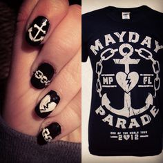 Inspired by a Mayday Parade tee!