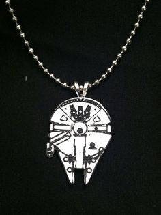 $24.99 #starwars #millenniumfalcon #hansolo star wars falcon necklace