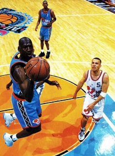 Michael Jordan NBA All-Star Game Jason Kidd Anfernee Hardaway
