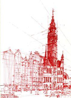 Galeria/Rysunek - Szkoła Rysunku i Malarstwa DOMIN Gdańsk - nauka rysunku, kurs na architekturę