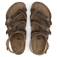 BIRKENSTOCK Seres Natural Leather Camberra Old Tobacco in all sizes ✓ Buy directly from the manufacturer online ✓ All fashion trends from Birkenstock Sexy Sandals, Sandals Outfit, Shoes Sandals, Style Grunge, Soft Grunge, Ankle Boots, Shoe Boots, Crazy Shoes, Me Too Shoes