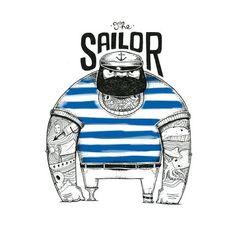 1000+ ideas about Sailor Illustration on Pinterest | Sinbad The ...