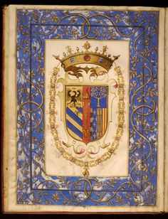 Francesco Maria II Della Rovere, Duke of Urbino - Leaf from Dogale of Francesco della Rovere Mamiami - Walters W4811V - Open Reverse.jpg