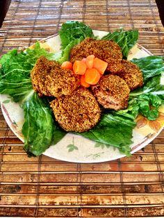 Homemade Falafel (Puerto Rico style) #falafel #veggie #vegetarian #food #healthy