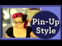 Pinup Curls - Smooth Easy - A Vintage Hair Tutorial
