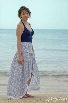 Boho Dreams Skirt Tutorial | This easy boho skirt is perfect for spring!