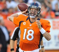 Peyton Manning is enjoying a historic stretch, during which he has joined Tom Brady as the only quarterbacks in NFL history to throw for at least 1,000 yards and eight touchdowns without an interception during a three-game stretch in multiple seasons