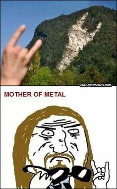 Memes chistosos en español: Mother of metal → #memesdivertidos #memesenespañol #memesparafacebook #Memestumblr #Memeswhatsapp