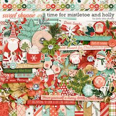 Time For Mistletoe And Holly by Jady Day Studio - OK