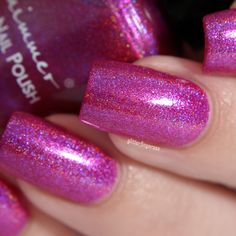 KBShimmer Berried in the Sand Red Lips, Dark Red, Berries, Nail Polish, Nails, Beauty, Finger Nails, Ongles, Nail Polishes
