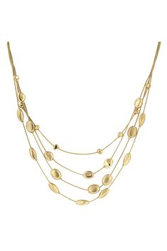 14K Gold Pebble Necklace | Awesome Selection of Chic Fashion Jewelry | Emma Stine Limited