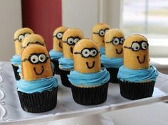 Minion cake recipes: Make Despicable Me Minion Cupcakes