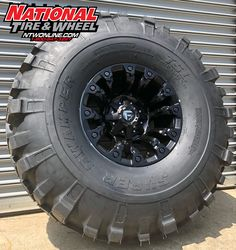 Fuel Off-Road Vapor mounted up to a Super Swamper TSL. Off Road Tires, 4x4 Off Road, Truck Wheels, Wheels And Tires, Super Swamper Tires, Tyre Companies, Wheel And Tire Packages, Dodge Power Wagon, Jeep Accessories