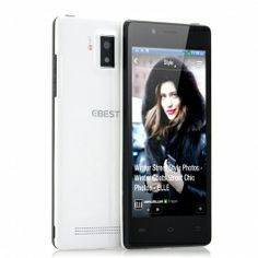 EBEST Z5 4.5 Inch QHD OGS Screen Android 4.2 Phone - MT6589 1.2GHz Quad Core CPU, 8 Megapixel Camera, 3G (White)