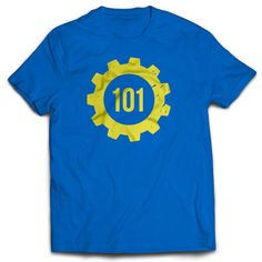 Vault 101 Fallout Gaming T-Shirt