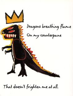 Maya Angelou's courageous children's verses, illustrated by Basquiat