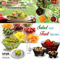 Anda pecinta salad dan buah? Kami menjual peralatan salad dan buah yang cantik dan berkualitas untuk Anda ! Untuk melihat pilihan produknya lihat di http://fargo2001.com/housewares-315