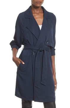 This navy number. | 23 Trench Coats That'll Keep You Looking Cute This Spring