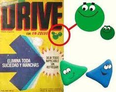 Publicidad de Drive en polvo