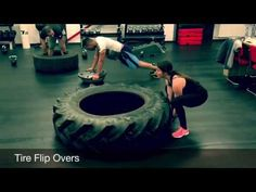 20 great Tractor Tire Exercises for bootcamp or a Total-body fitness work-out - YouTube