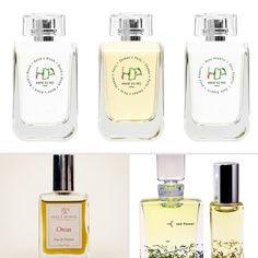 Pregnancy-safe beauty products: organic perfumes