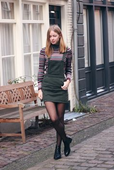 Radiate Fashion: OUTFIT | Dungaree Dress