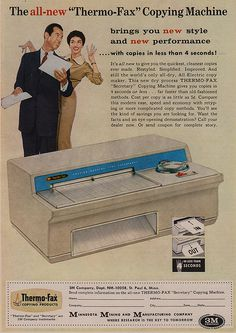 Thermo-Fax brings you new style, new performance.#1950s ads
