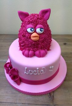 furby cake so pretty. Cupcakes, Cupcake Cakes, Different Cakes, Character Cakes, Novelty Cakes, Girl Cakes, Fancy Cakes, Love Cake, Pretty Cakes