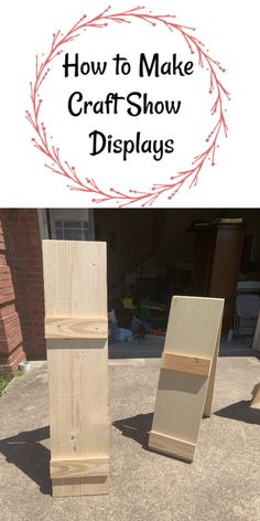 How to Make Craft Show Displays - Let's Paint Furniture!