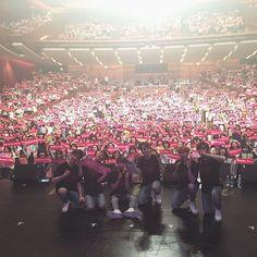 ファンの皆さん、本当にありがとうございました!thank you osaka #concert