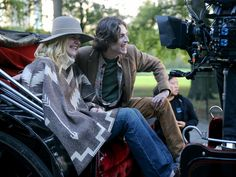 Timothee Chalamet Photos - Elle Fanning and Timothee Chalamet are seen on the movie set of the 'Untitled Woody Allen Project'. - Elle Fanning at the 'Untitled Woody Allen Project' New York Movie, Timmy T, Woody Allen, Movie Costumes, Elle Fanning, Love S, On Set, Costume Design, American Actress