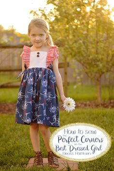 {Tutorial} How to Sew the Perfect Corners on Best Dressed Girl — Little Lizard King