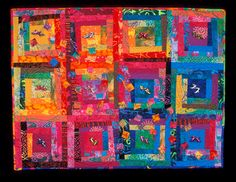 """images of new mexican christmas   image of quilt titled """"Barbi's Mexican Holiday"""" by Giselle Blythe"""