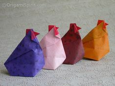 All about origamis