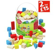 Buy Chad Valley Wooden 80 Piece Block Set at Argos.co.uk, visit Argos.co.uk to shop online for Construction toys, LEGO and construction toys, Toys
