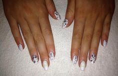 CND Brisa Gel with Swarovski Crystal detail