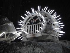 The Turda Salt Mine, Romania