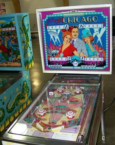 """1975 Old Chicago """"Bally""""Pinball Machine Pinball Wizard, The Good Old Days, Arcade Games, Game Room, Childhood Memories, Basement, Nostalgia, Castle, Chicago"""