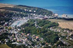 Photo aérienne de Saint-Valéry-en-Caux - Seine-Maritime (76)