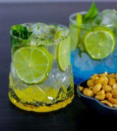 Virgin Mojito. En läskande och god drink med smak av mynta och lime. Svalkande att dricka en varm sommardag och trevligt att bjuda på vid festliga tillfällen.