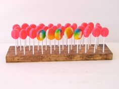 Wood Cake Pop Stand (Holds 20 cake pops)