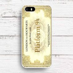 Hogwarts Train Ticket Case Cover //Price: $12.00 & FREE Shipping // #hashtag4