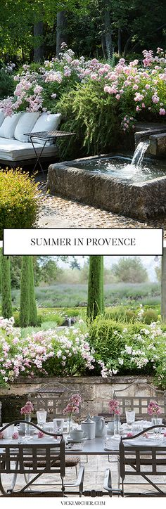 summer in st remy de provence http://vickiarcher.com/2015/07/summer-in-st-remy/