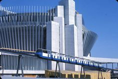 French pavilion & Monorail at Expo Montreal Expo 67 Montreal, Quebec Montreal, Montreal Ville, Quebec City, Lake Huron, Canada, Expo 2015, World's Fair, Interesting History
